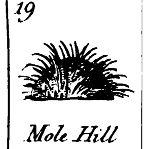 Vintage Printable Molehill - Graphic