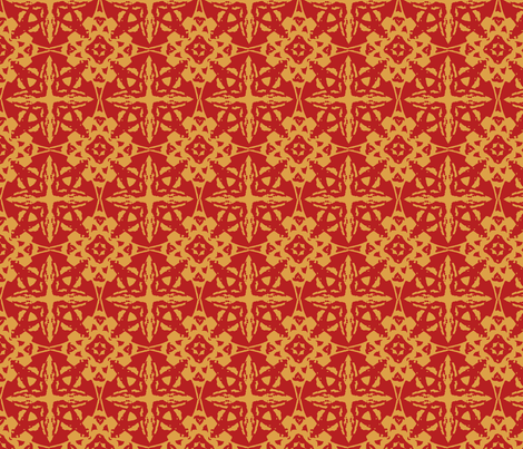 red and gold_Crop_l_crop_2x2_b_45m_crop_a_Picnik_collage fabric by khowardquilts on Spoonflower - custom fabric