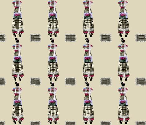 Dress Form Roses fabric by karenharveycox on Spoonflower - custom fabric