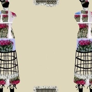 Dress Form Roses
