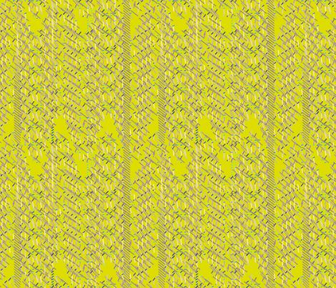 Magnetism_Citrus fabric by patsijean on Spoonflower - custom fabric
