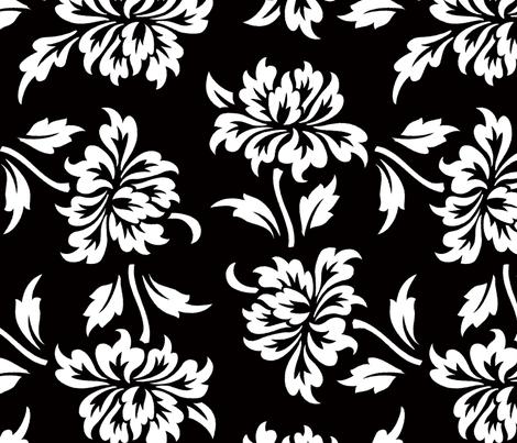 Aloha Flowers 9b fabric by muhlenkott on Spoonflower - custom fabric