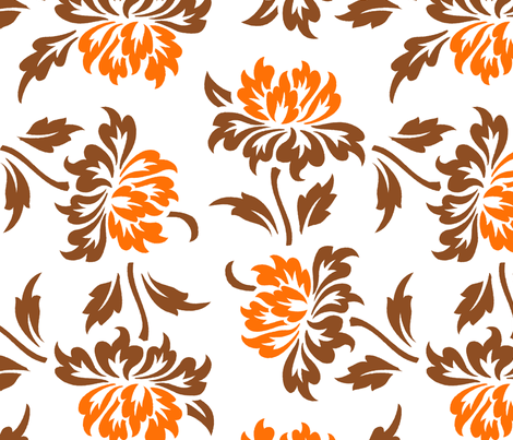 Aloha Flowers 9c fabric by muhlenkott on Spoonflower - custom fabric