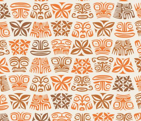 Aloha Flowers 5c fabric by muhlenkott on Spoonflower - custom fabric