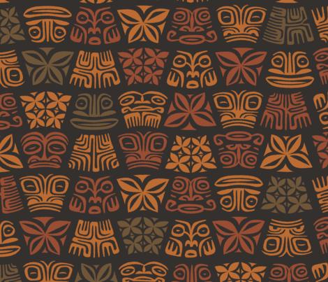 Aloha Flowers 5d fabric by muhlenkott on Spoonflower - custom fabric