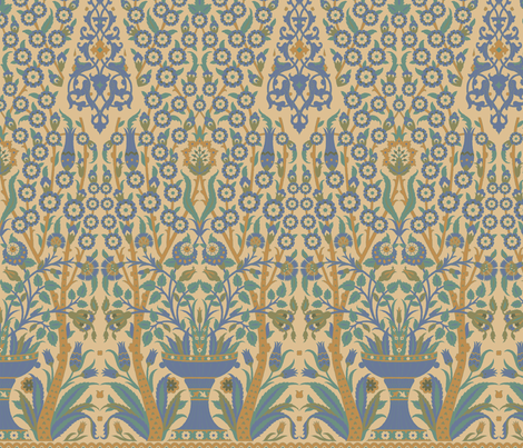 Topkapi 1b fabric by muhlenkott on Spoonflower - custom fabric