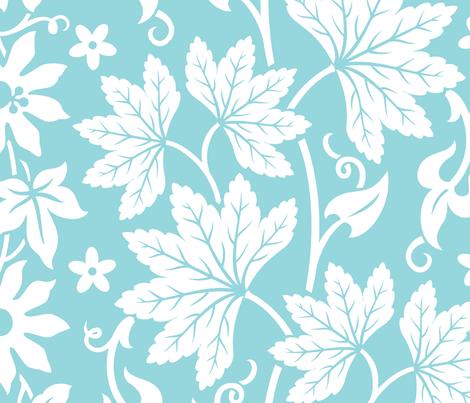 Aloha Flowers 10a fabric by muhlenkott on Spoonflower - custom fabric