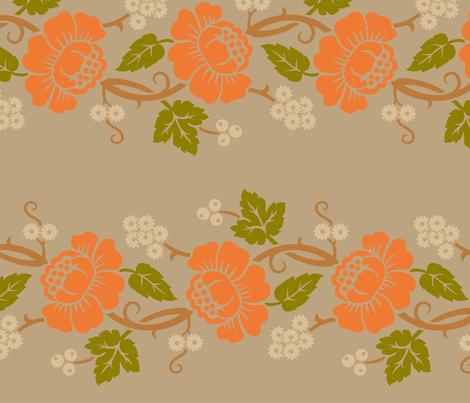 Aloha Flowers 11c fabric by muhlenkott on Spoonflower - custom fabric