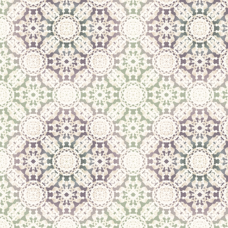French Flower fabric by kristopherk on Spoonflower - custom fabric
