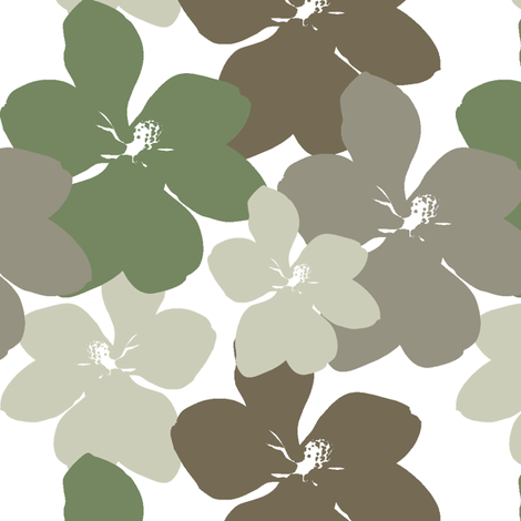 Little Gem - White fabric by kristopherk on Spoonflower - custom fabric