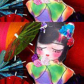 Jazzy Jasmine dolly made up