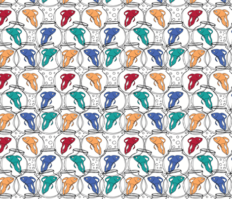 betabowls4color fabric by circlesandsticks on Spoonflower - custom fabric