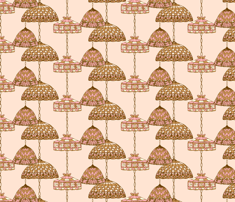 Ice Cream Social :: Neapolitan :: Salon fabric by cottageindustrialist on Spoonflower - custom fabric