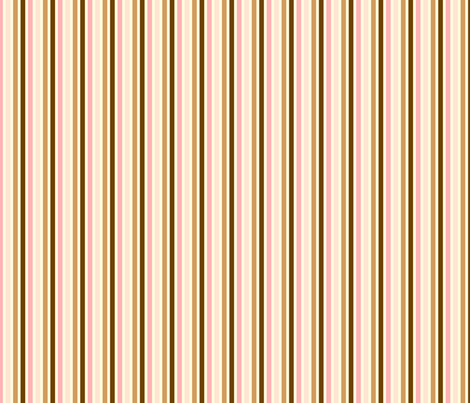Ice Cream Social :: Neapolitan :: Candy Stripe fabric by cottageindustrialist on Spoonflower - custom fabric