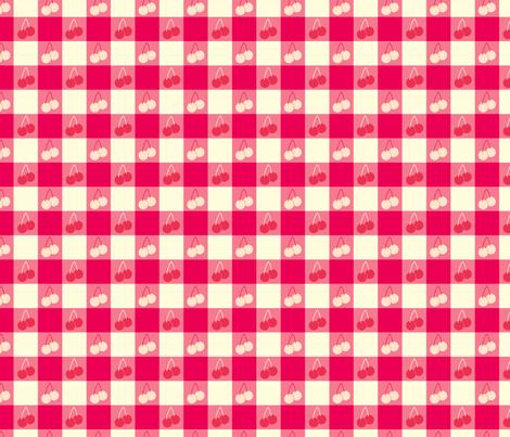 Ice Cream Social :: Banana Split :: Picnic Table fabric by cottageindustrialist on Spoonflower - custom fabric