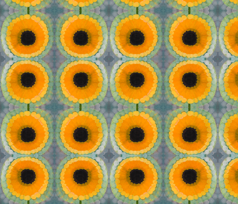 Circles and Sun fabric by angella_meanix on Spoonflower - custom fabric