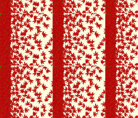 vll_falling_leaves1_sample fabric by victorialasher on Spoonflower - custom fabric
