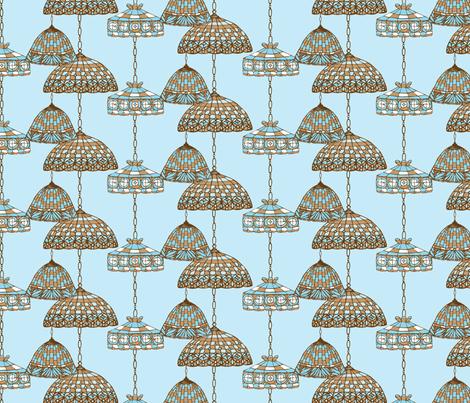 Ice Cream Social :: Blue Moon :: Salon fabric by cottageindustrialist on Spoonflower - custom fabric