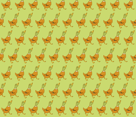 Duck fabric by laurawilson on Spoonflower - custom fabric