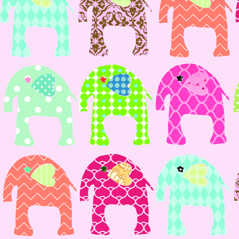 elephant_revised_final fabric by petunias on Spoonflower - custom fabric