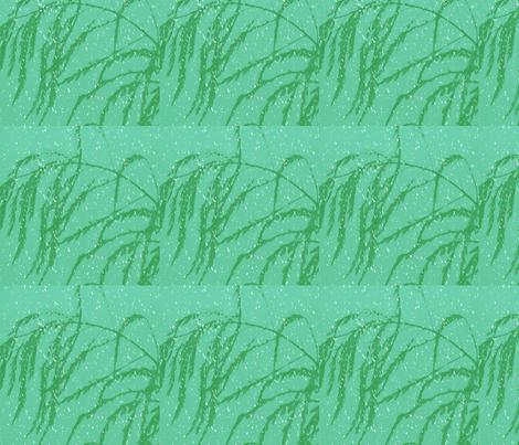 snow_post_aperagus_fern_003 fabric by khowardquilts on Spoonflower - custom fabric