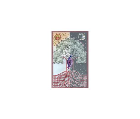 Tree of Life fabric by jasmo on Spoonflower - custom fabric