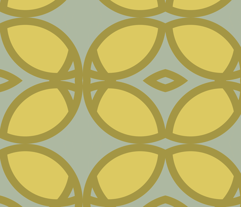 seafoam_circles_square fabric by holli_zollinger on Spoonflower - custom fabric