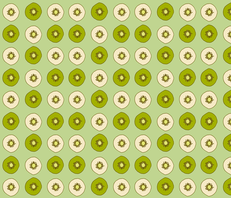 kiwi fabric by holli_zollinger on Spoonflower - custom fabric