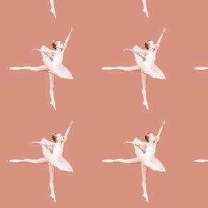 ballerina solo /peach