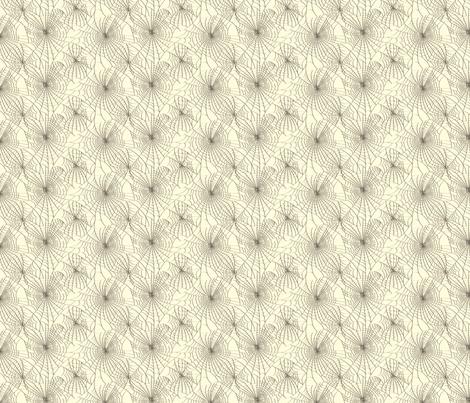 Spidery Web - Black fabric by voodoorabbit on Spoonflower - custom fabric