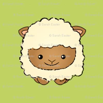 Sheep on Green