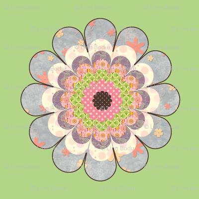 floweronpalegreen