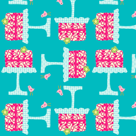 icing_on_the_cake_4_square fabric by petunias on Spoonflower - custom fabric