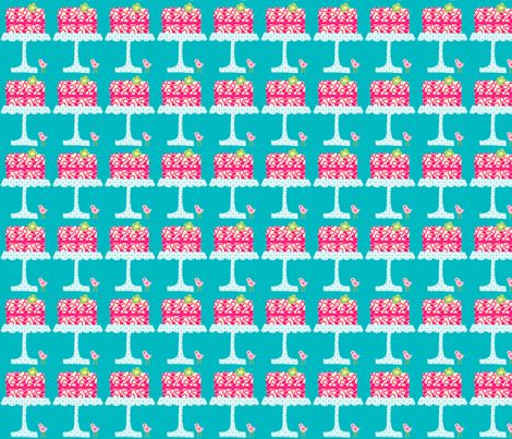 icing_on_the_cake_single_final fabric by petunias on Spoonflower - custom fabric