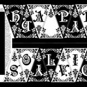Rpennant_happy-holiday-ornate_black-white_shop_thumb