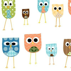 multi_owls_-_white_background
