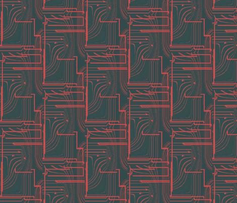 Megatron fabric by futureantiquity on Spoonflower - custom fabric