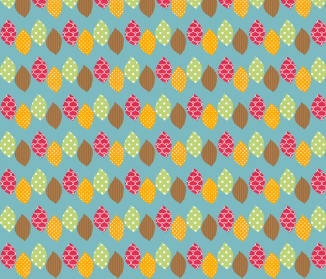 apple_leaf fabric by petunias on Spoonflower - custom fabric