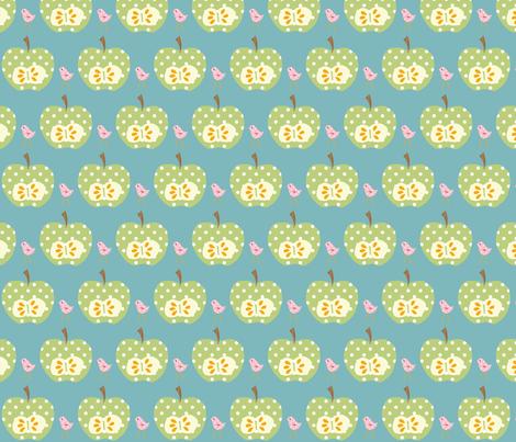 green_apple fabric by petunias on Spoonflower - custom fabric