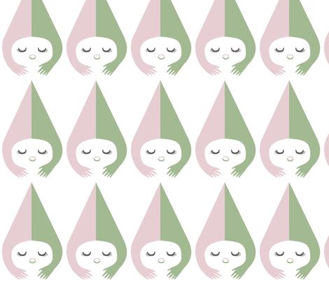 Little Miss fabric by pinkasapeach on Spoonflower - custom fabric
