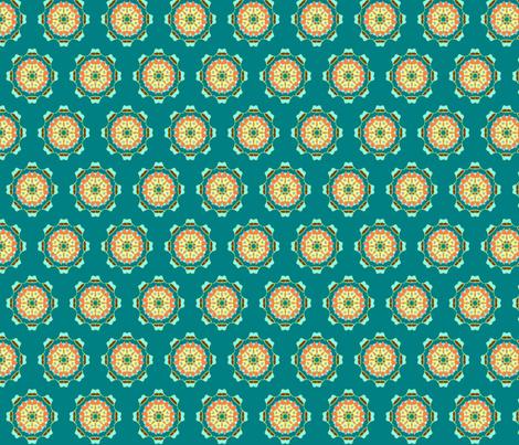 orange_blue_starburst1 fabric by jkayep2 on Spoonflower - custom fabric