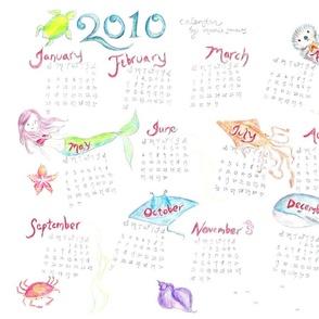 Sea Life Calendar