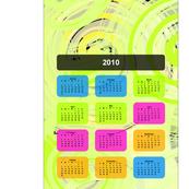 Minimalist Edge 2010 Calendar