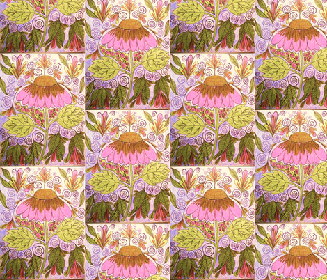 Pretty'n'Pink Too! #2 fabric by societydeb on Spoonflower - custom fabric