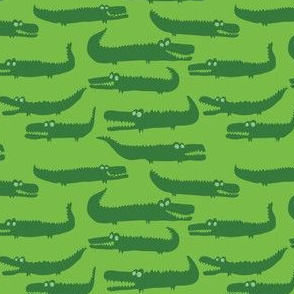Green Crocodiles