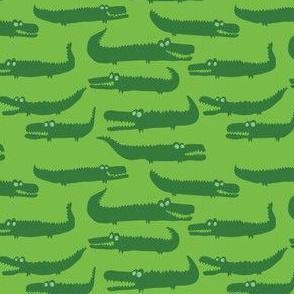 Green Crocodiles