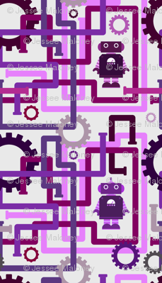 Robots and Pipes - Purples