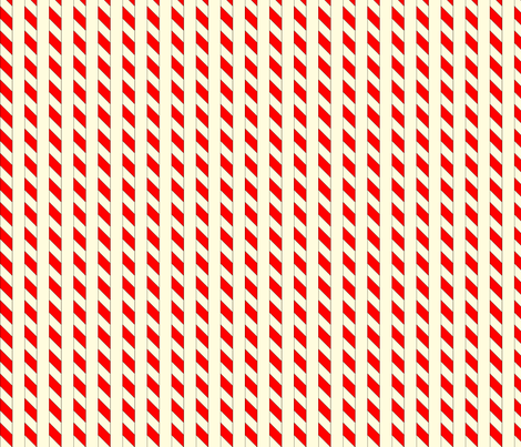 vll_candy_cane_stripe fabric by victorialasher on Spoonflower - custom fabric