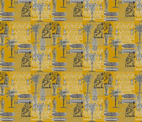 Slavery Toile-096 fabric by kkitwana on Spoonflower - custom fabric
