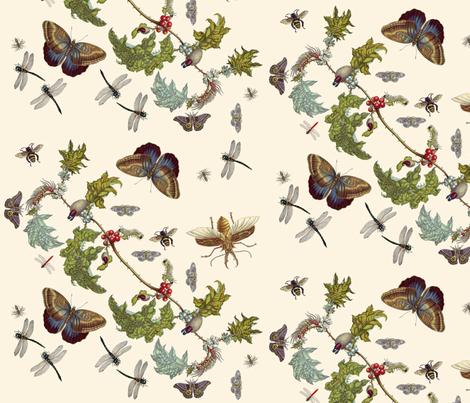 Pollinate fabric by nalo_hopkinson on Spoonflower - custom fabric